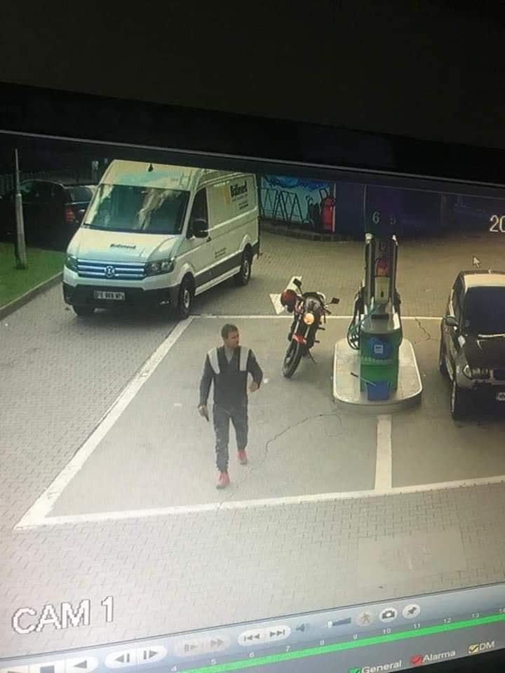 Un bărbat care a fugit cu 2500 de euro dintr-o benzinărie de pe drumul Botizului, căutat pe internet