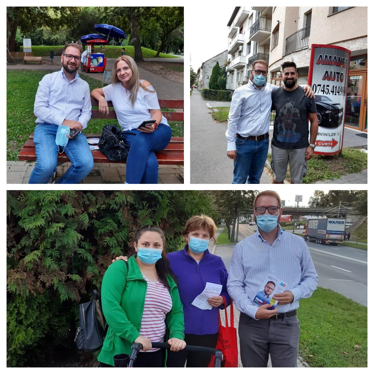 De ce crede Radu Panait, candidatul USR PLUS, că poate câștiga Primăria Satu Mare