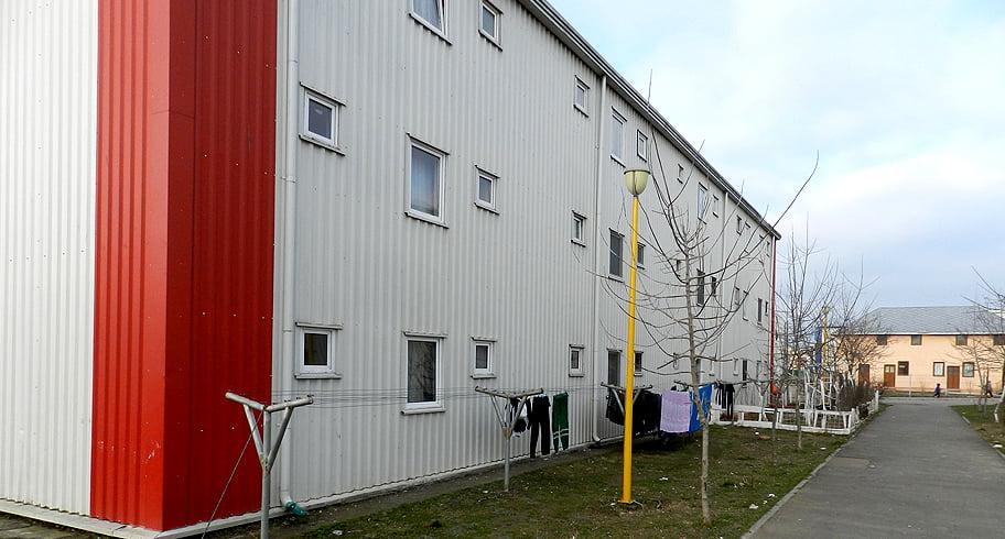 Dorel Coica promite un cartier social cu blocuri tip container, ca la Constanța, unde să mute toți asistații social din oraș
