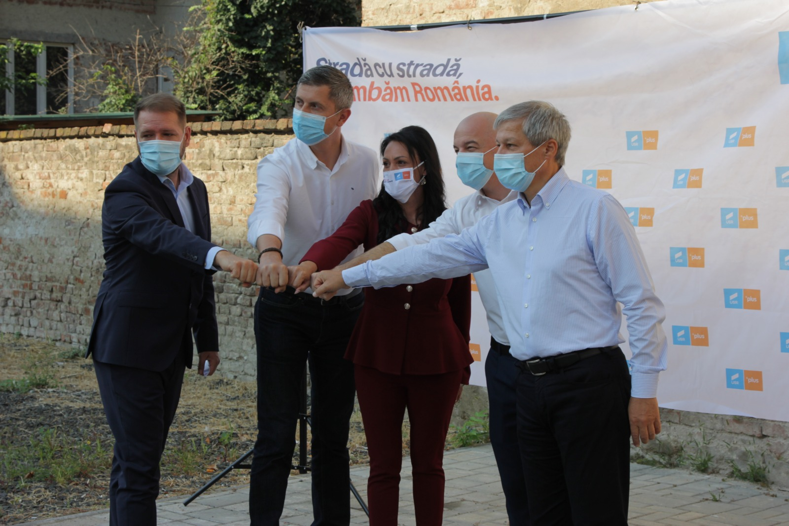 Dacian Cioloș și Dan Barna, la Satu Mare, pentru susținerea candidaților Alianței USR PLUS la alegerile locale