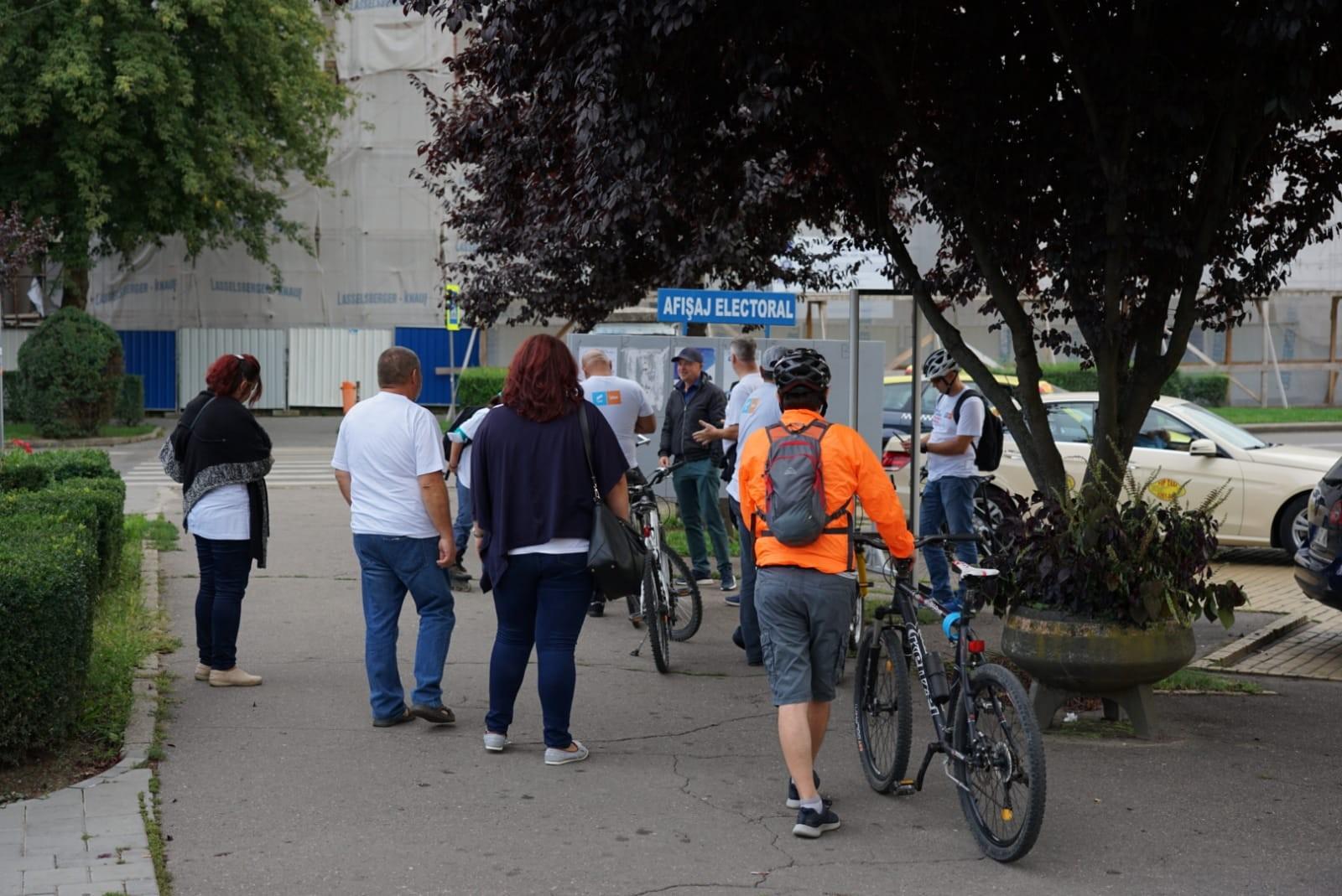 Echipa USR PLUS pentru Consiliul Județean, propune înființarea de piste pentru bicicliști care să lege localitățile din județ
