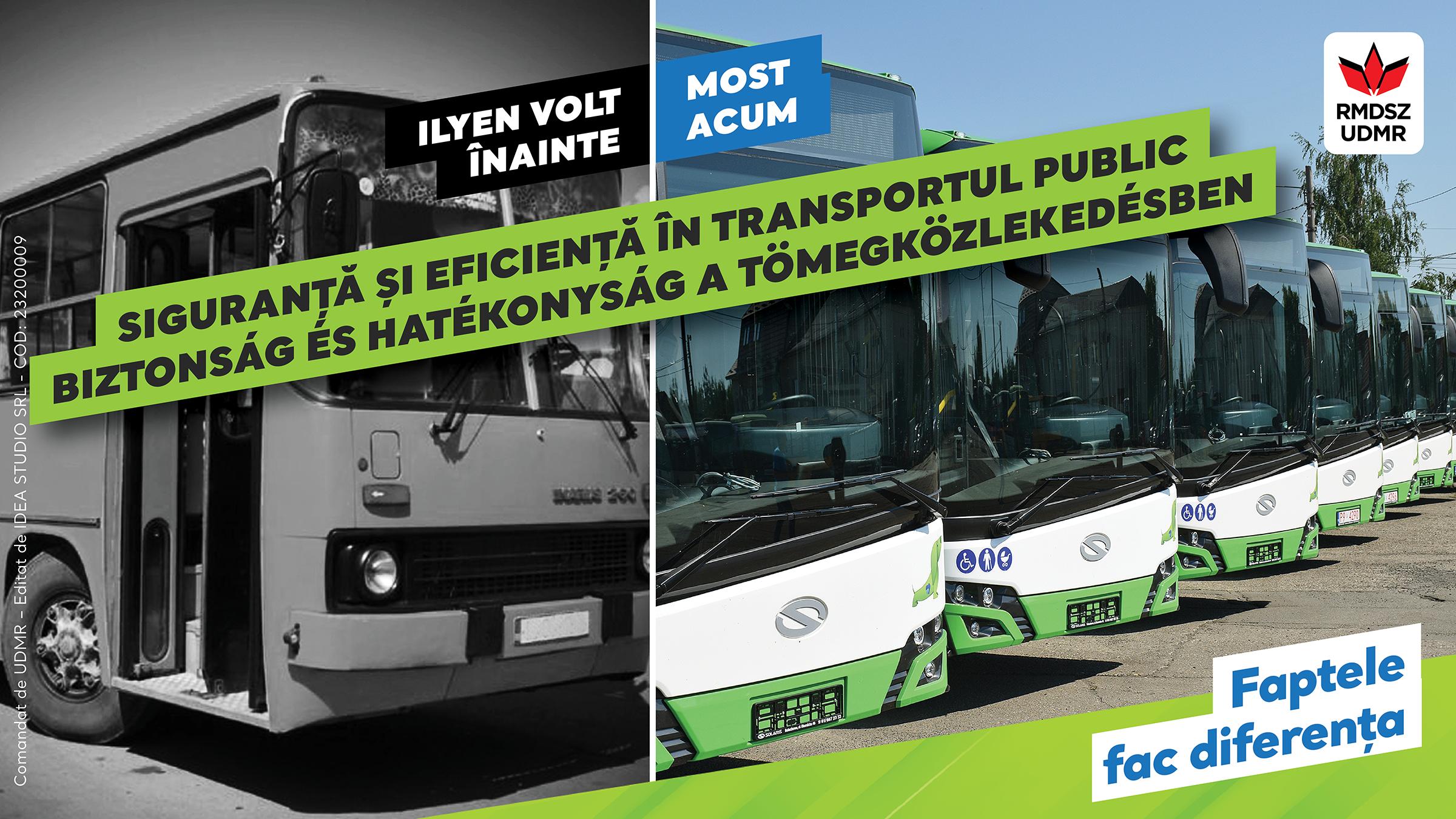 Kereskenyi Gabor: REZULTATE și VIZIUNE: siguranță, transport public și zone verzi