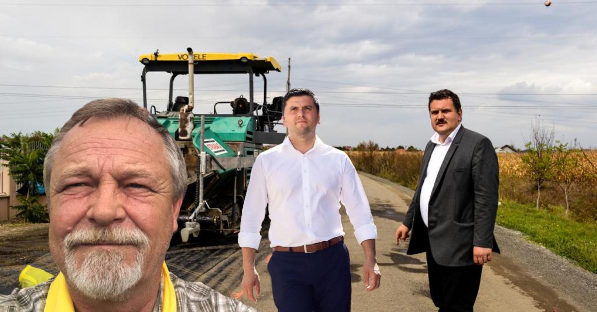 A început asfaltarea Autostrăzii Codrului, în penultima zi de campanie electorală, pe baza unui contract din… 2015!