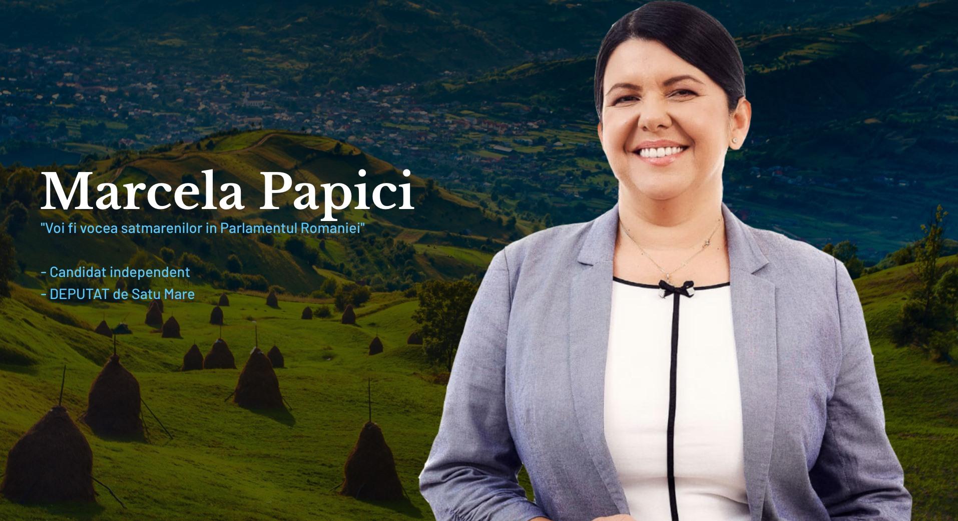 Marcela Papici își dorește să deschidă 5 cabinete parlamentare care să ajute producătorii cu promovarea și consilierea