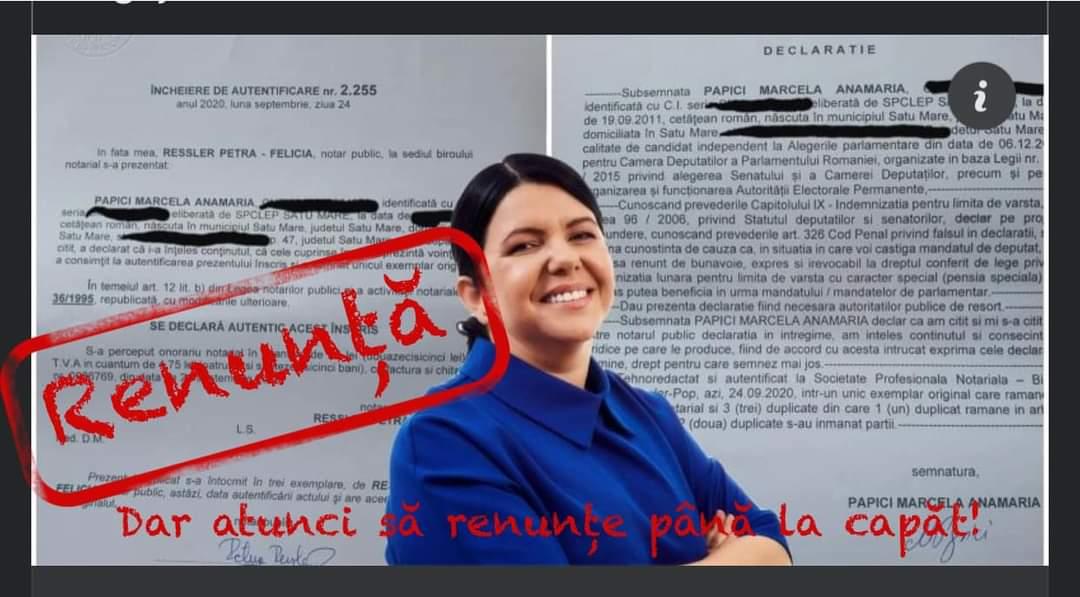 """Liberalul Victor Cernea, atac la Marcela Papici: """"Dacă renunță, să renunțe până la capăt"""""""