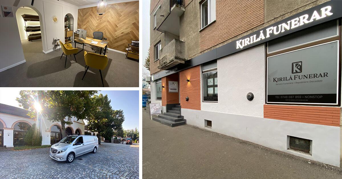 Kirilă Funerar a deschis un nou magazin în Satu Mare