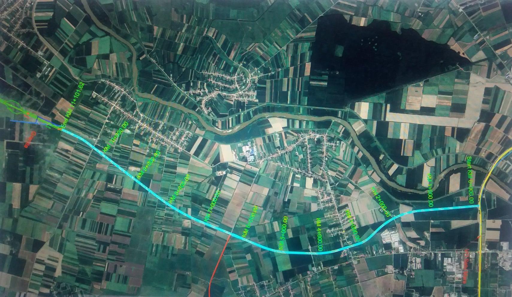 Se pun la punct detaliile traseului drumului expres ce va lega centura Sătmarului de drumul expres M49 din Ungaria
