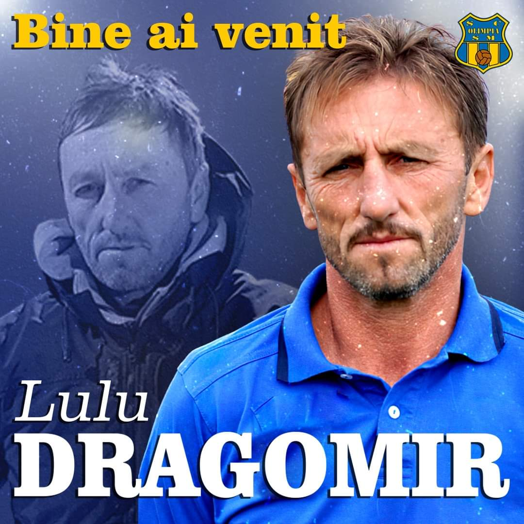 Lulu Dragomir este noul antrenor al Olimpiei